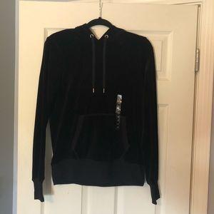 H&M Black Sweatshirt with Hood